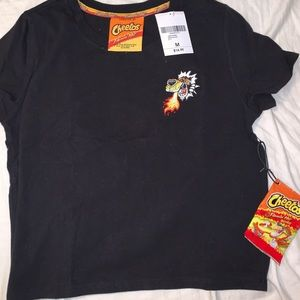 Black hot Cheeto shirt